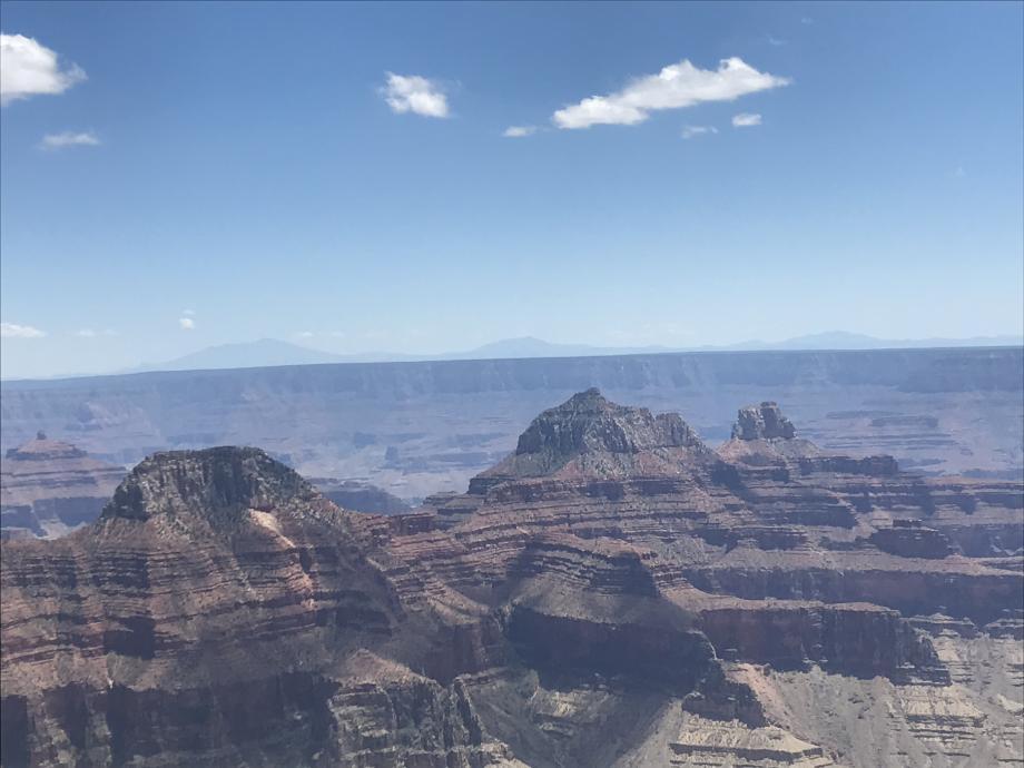 Deze berg heet Lady en is onderdeel van the North Rim