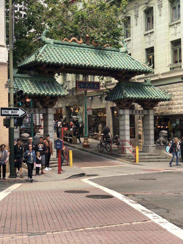 De poort naar Chinatown