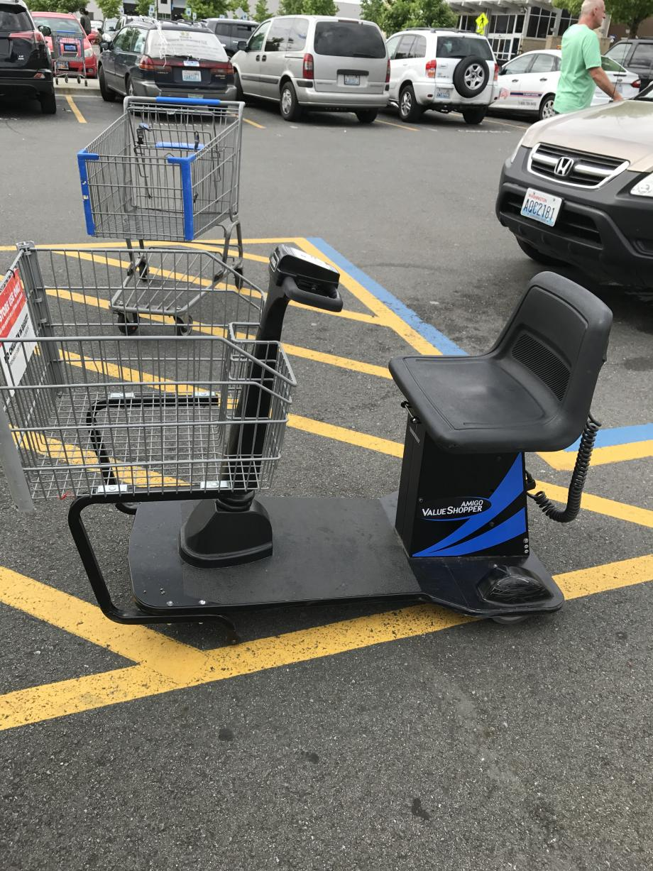 de scoot winkelwagen