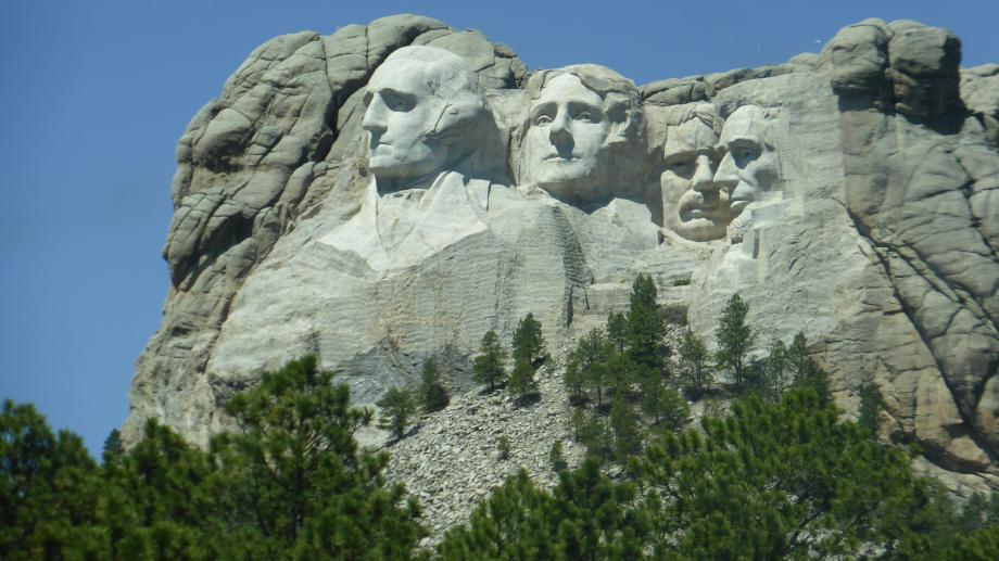Mount Rushmore, heel leuk om gezien te hebben